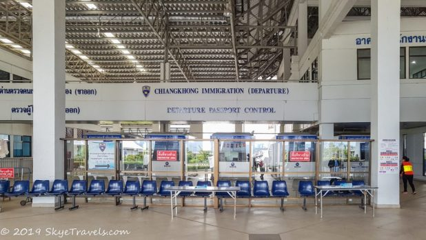 Thai Immigration at Chiang Khong #2