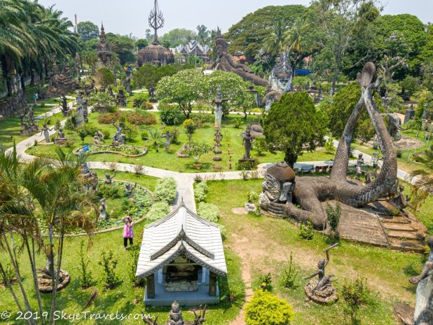 Buddha Park From Above #2