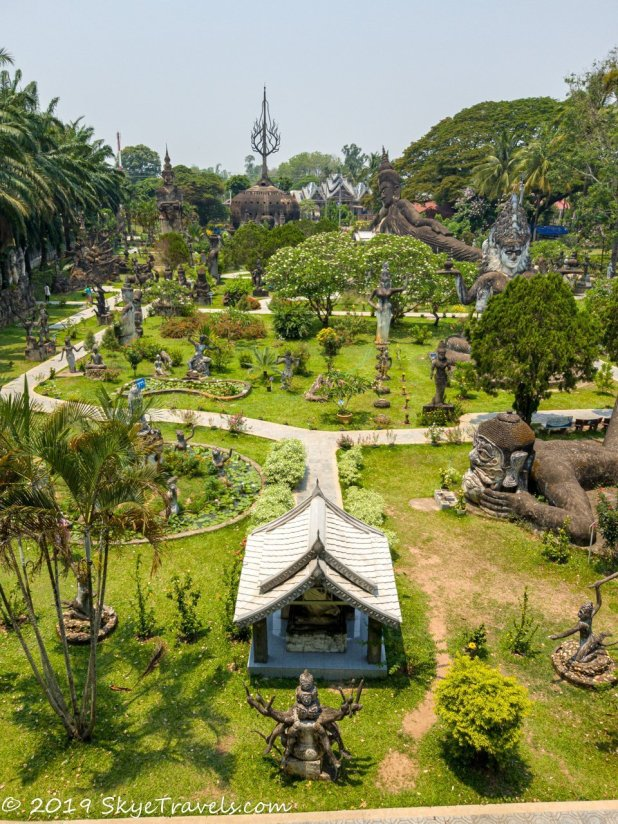 Buddha Park From Above