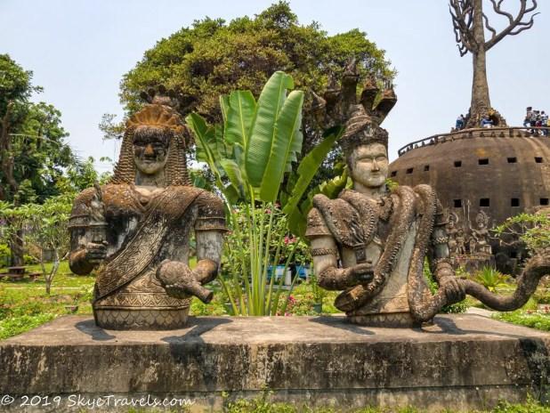 Buddha Park Statues #13