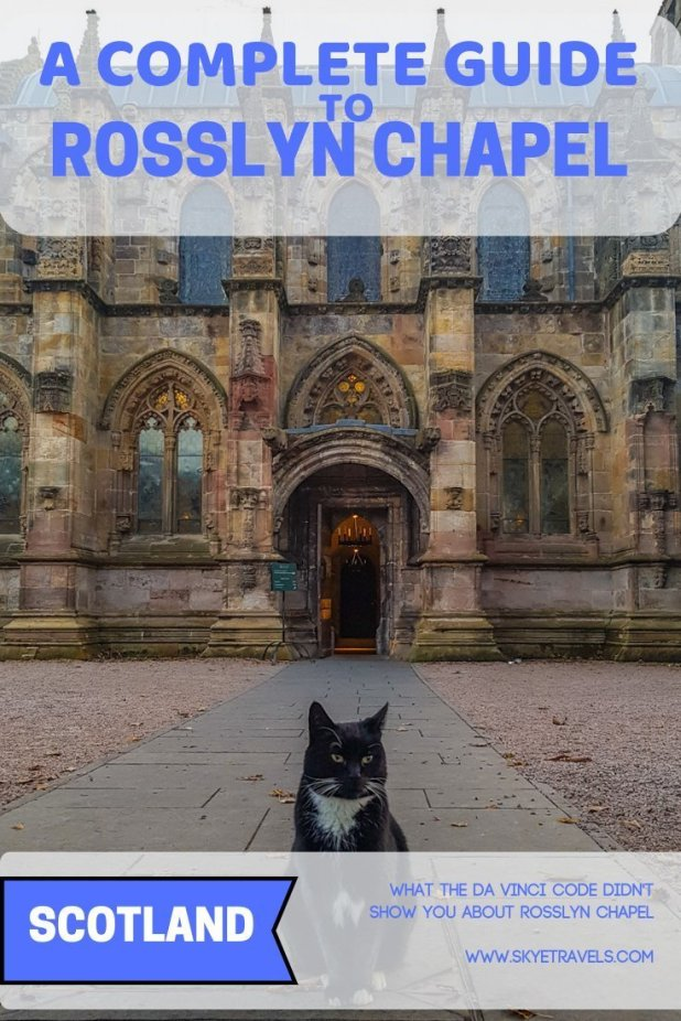Several miles south of Edinburgh sits the gorgeous Rosslyn Chapel, made famous by The Da Vinci Code, but the movie hardly shows its true beauty. #RosslynChapel #VisitScotland #HistoricScotland #Chapels #DaVinciCode #Churches #Edinburgh