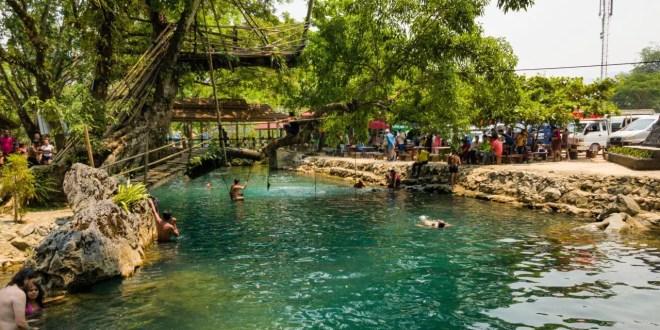 The Blue Lagoon in Laos