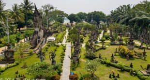 The Buddha Park in Vientiane, Laos