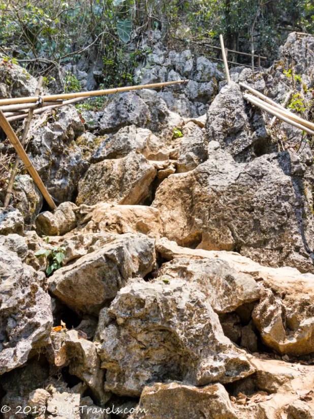 The Climb to Phu Kham Cave