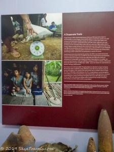 UXO Museum Information Board #9
