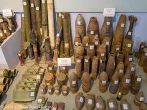 UXO Museum Landmines and Explosives