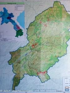 UXO Museum Map
