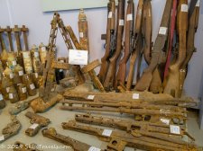 UXO Museum Old Guns