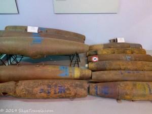 UXO Museum Warhads