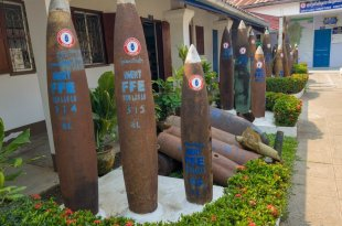 UXO Museum Warheads