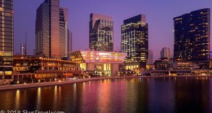 Abu Dhabi at Sunset