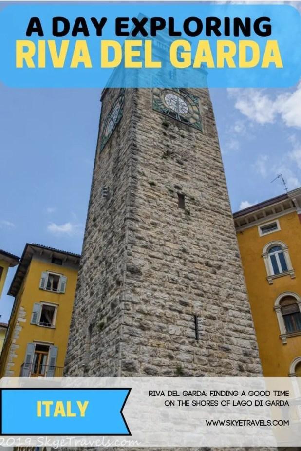 Riva del Garda on the northern shore of Lago di Garda has a few spots to explore. More importantly, it\'s a chance to slow down and enjoy the view. #RivaDelGarda #VisitTrentino #Traverse19 #VisitVerona #NorthernItaly #ItalianFood #LagodiGarda
