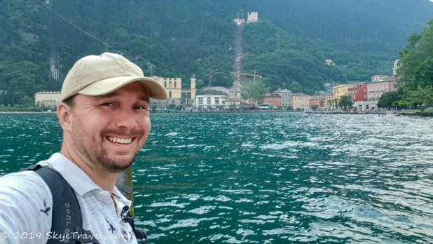 Selfie at Riva del Garda