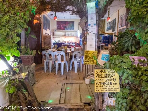Thai German Restaurant in Vang Vieng