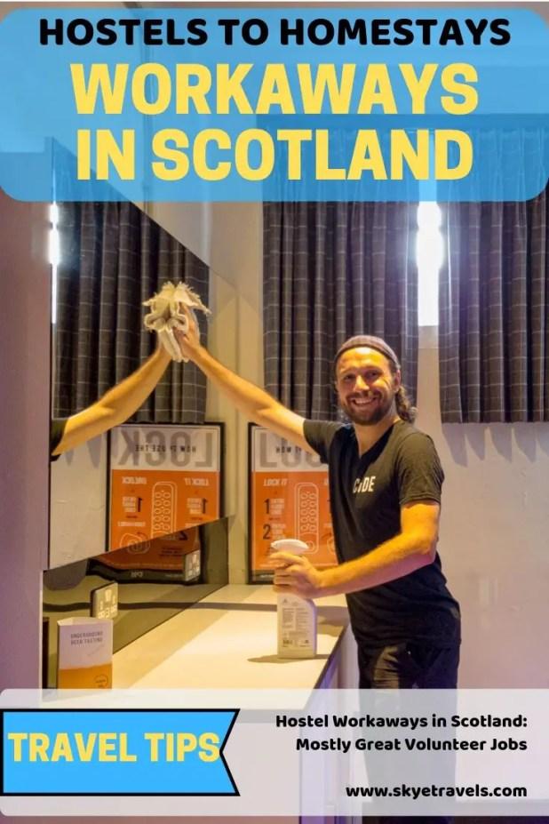Workaways in Scotland Pin