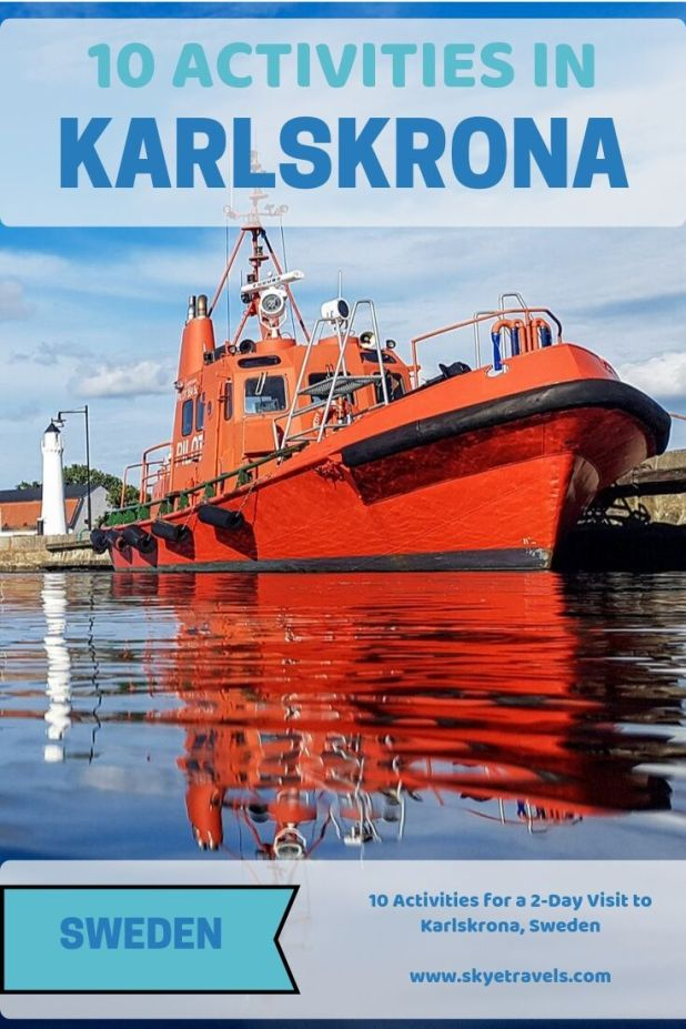 10 Activities in Karlskrona Pin