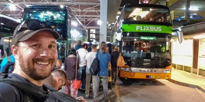 Selfie with Flixbus in London