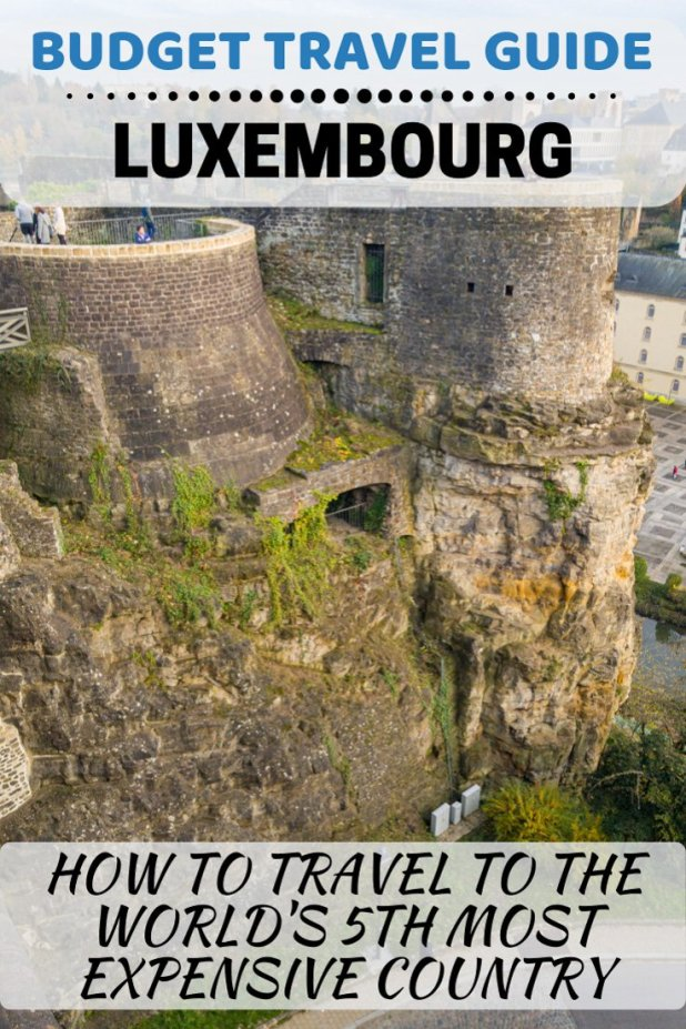 I had no idea that visiting Luxembourg on a budget would be so hard when I booked my flights there to see the Christmas markets. #Luxembourg #BudgetTravel #TravelTips #VisitLuxembourg #ViandenCastle