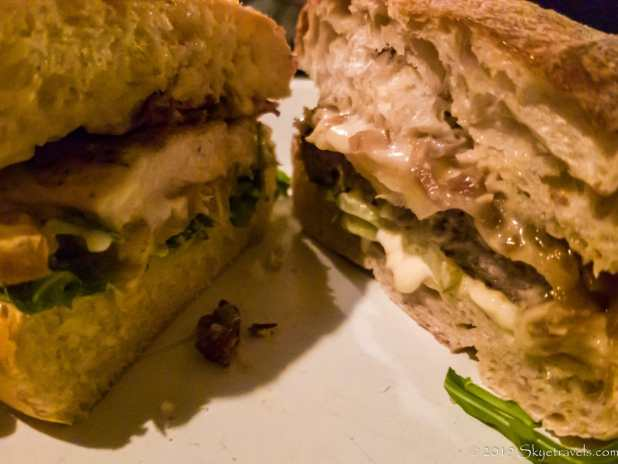 Raclette Burger at Otto's Burger Hamburg