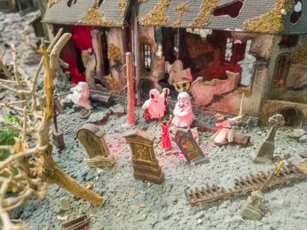 Spooky Scene at Miniatur Wunderland