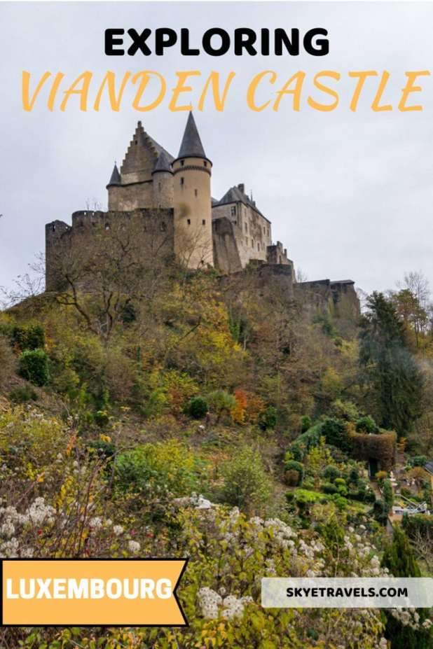 If you\'re planning to visit Vianden Castle during your journey to Luxembourg, here\'s a guide on how to get there and what to expect. #Vianden #ViandenCastle #Luxembourg #Castles #Excursions