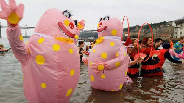 Blob Costumes at Loony Dook 2020
