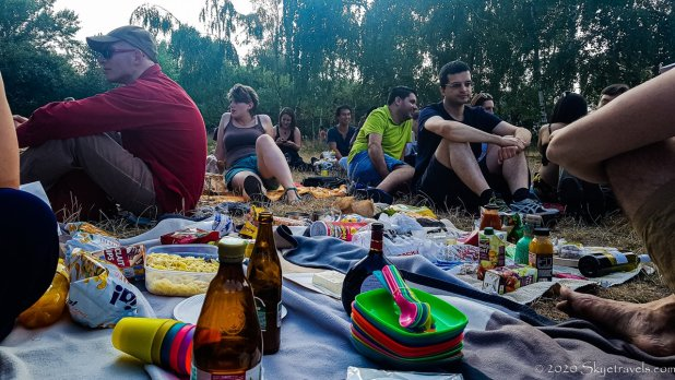 Picnic with Couchsurfing Host in Berlin