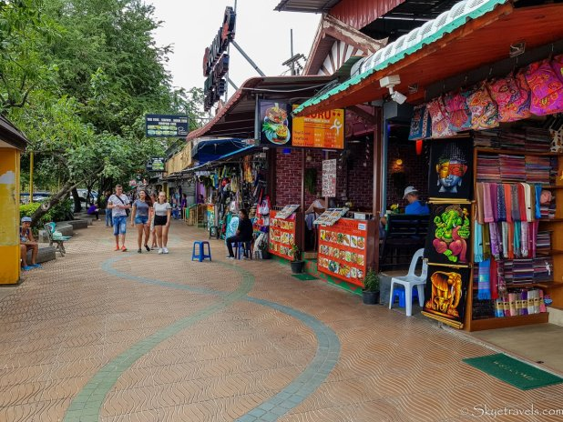 Ao Nang Beach Walking Street