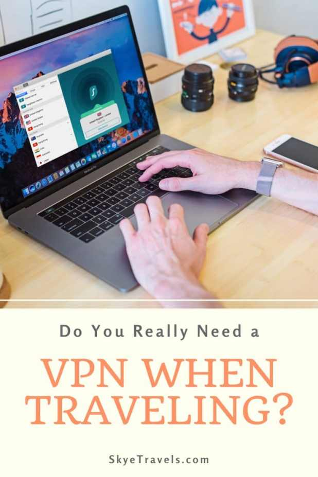 VPN When Traveling Pin