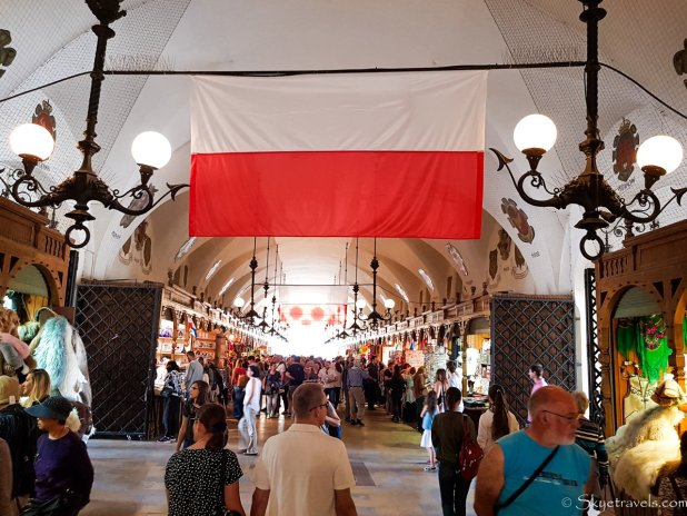 Cloth Hall in Krakow Old Town