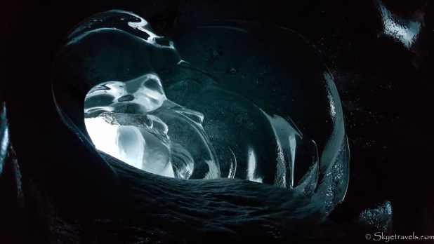 Ice Cave on Langjokull Glacier