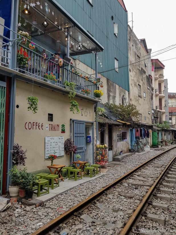 Railroad Street in Hanoi