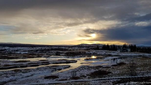 Sunrise at Thingvellir