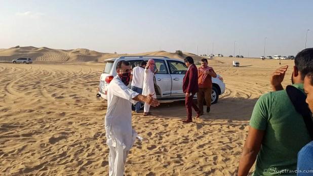 Dubai Desert Safari 4x4s
