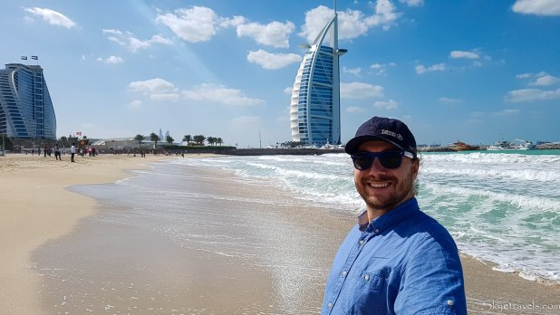Selfie with the Burj Al Arab