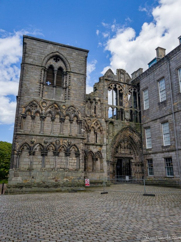 Holyrood Abbey Front