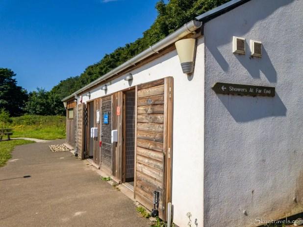 Yellowcraig Beach Bathrooms