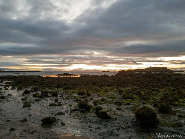 Yellowcraig Beach Sunset with Rocks