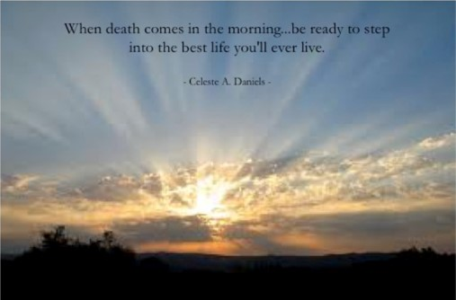When death comes in the morning…