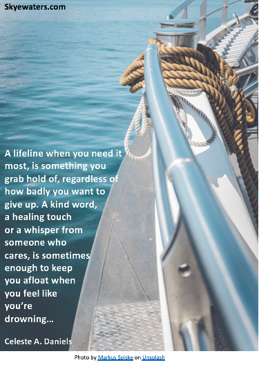 Hydrocephalus: When someone throws you a  lifeline…use it!