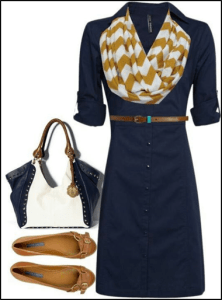 Business Class Style - The Shirt Dress