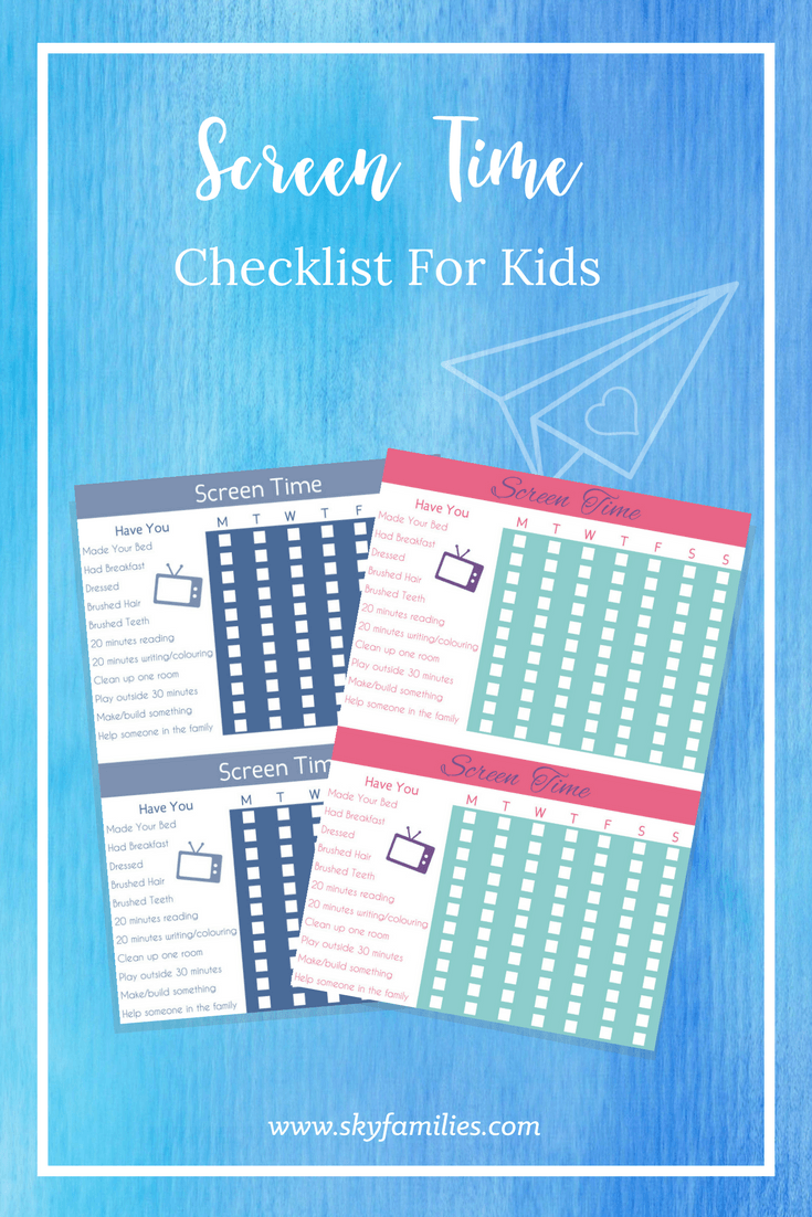 Pilot Wife Organisation Screen Time Printable-2