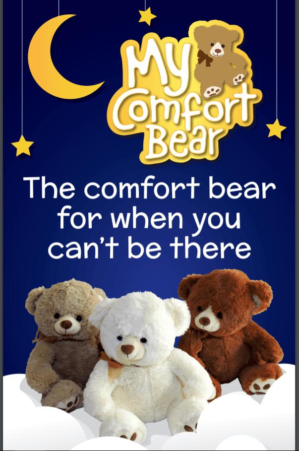 my comfort bear voice recording bear