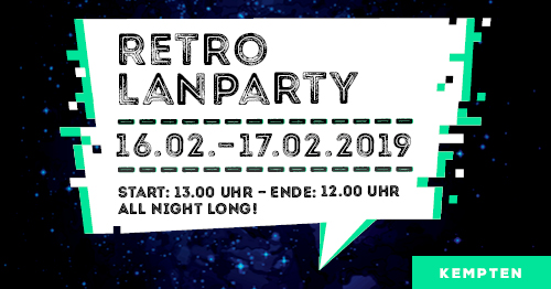 SKYFORGER Retro-LAN-Party (Februar 2019)
