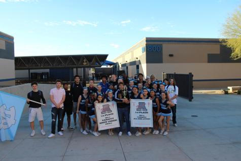 Walk of Champions celebrate teams' hard work