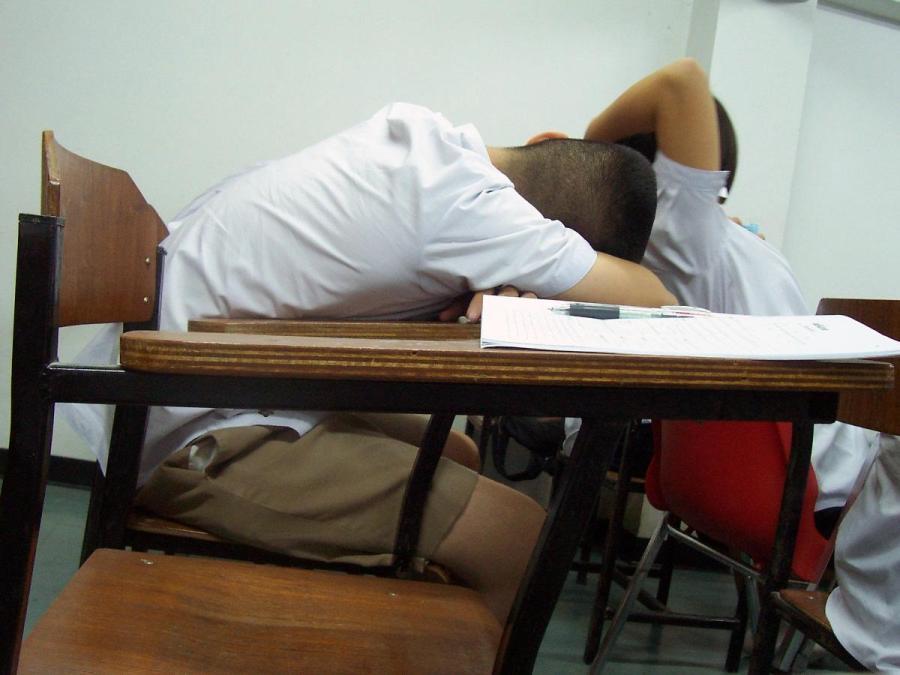 Stressing over grades