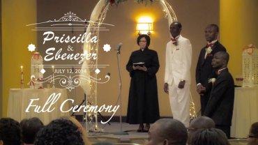 Priscilla and Ebenezer Wedding Ceremony