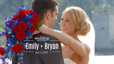 Emily and Bryan Wedding Feature