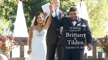 Brittany and Tilden Full Wedding Ceremony
