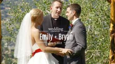 Emily and Bryan Wedding Ceremony